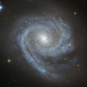 This is the spiral galaxy ESO 498-G5 that is over 100 million light years away [Image: ESA/Hubble & NASA]